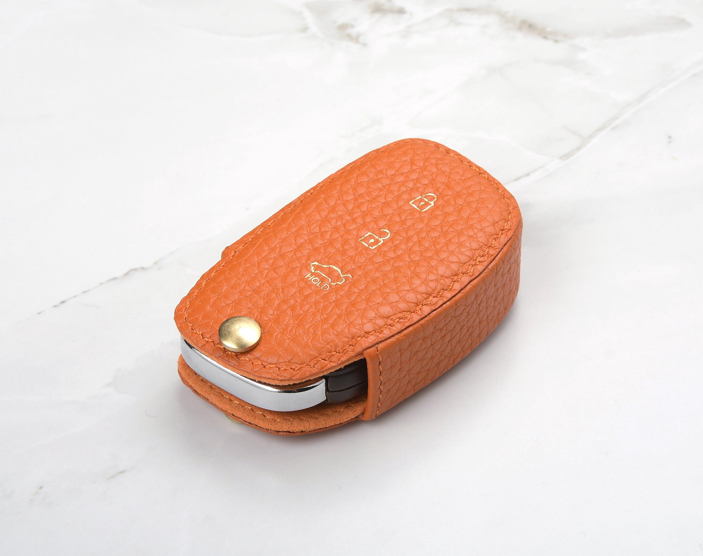 Limited Edition Hyundai Leather Style With Gift Box Logo Keyring Keyfob Hyundai